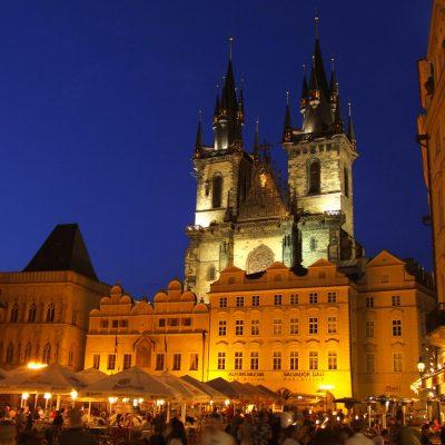 Iglesia de Nuestra Señora de Týn, un lugar escondido