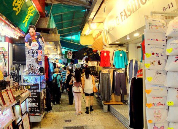 Mercado de Stanley de Hong Kong