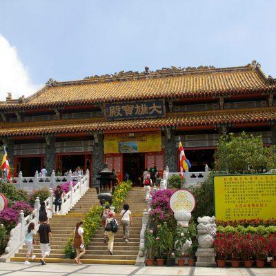 Monasterio de Po Lin, centro budista