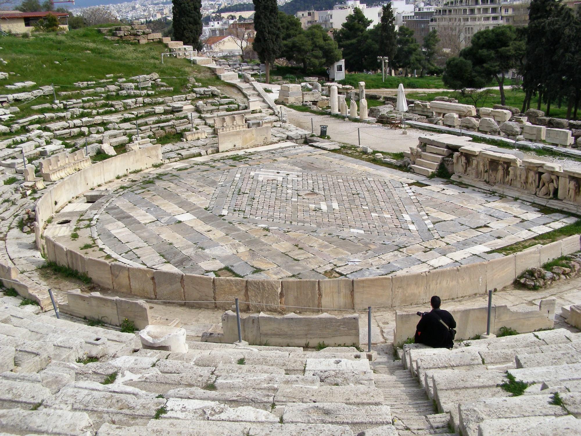qué ver en Atenas Teatro de Dionisio