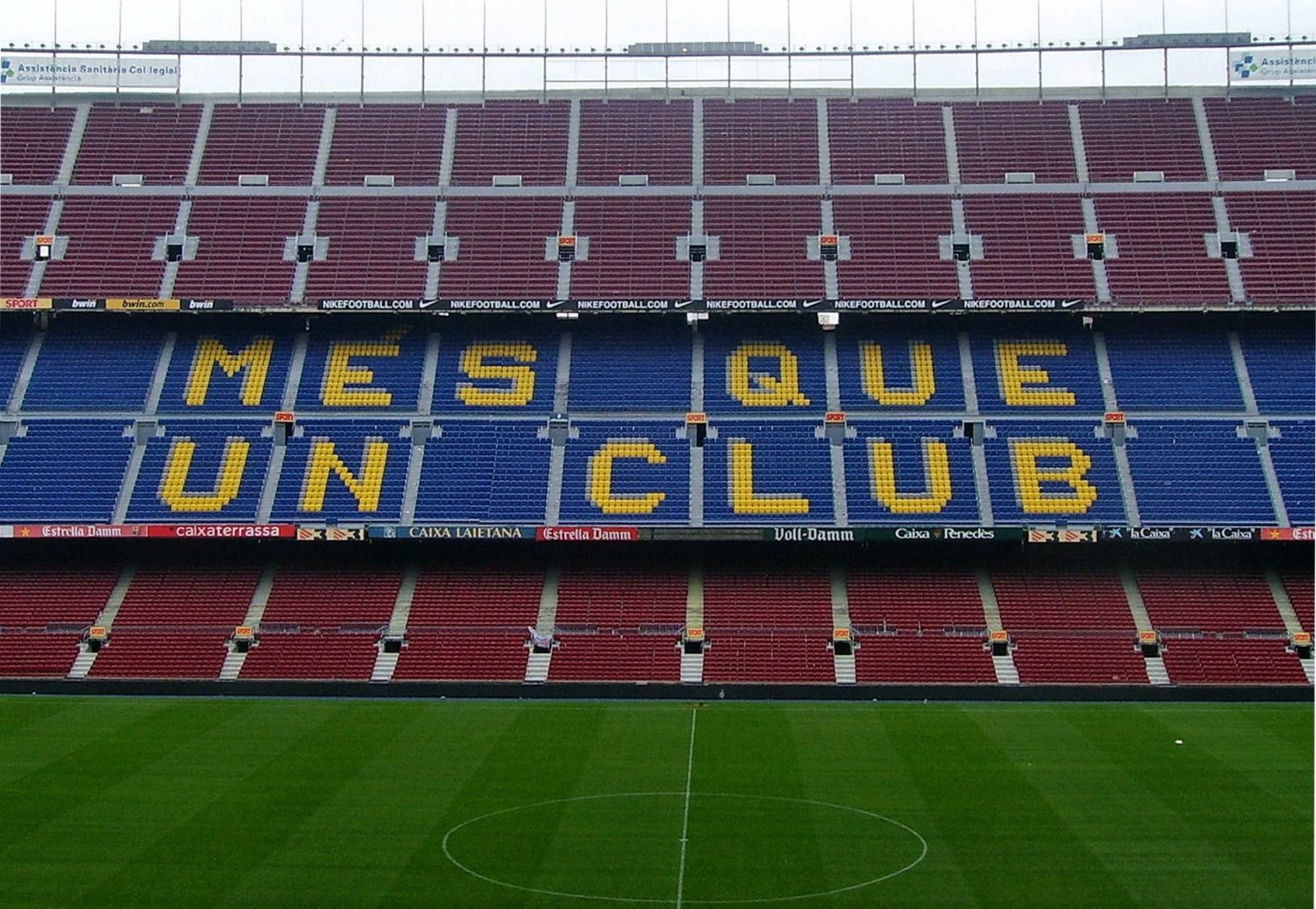 qué ver en Barcelona Camp Nou