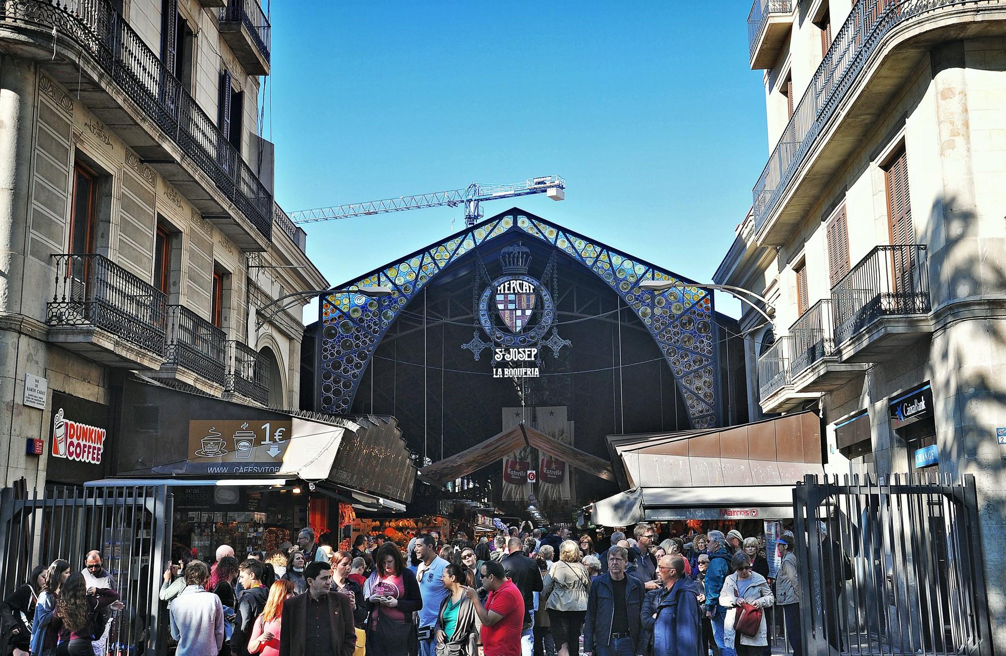 qué ver en Barcelona Mercado de la Boquería