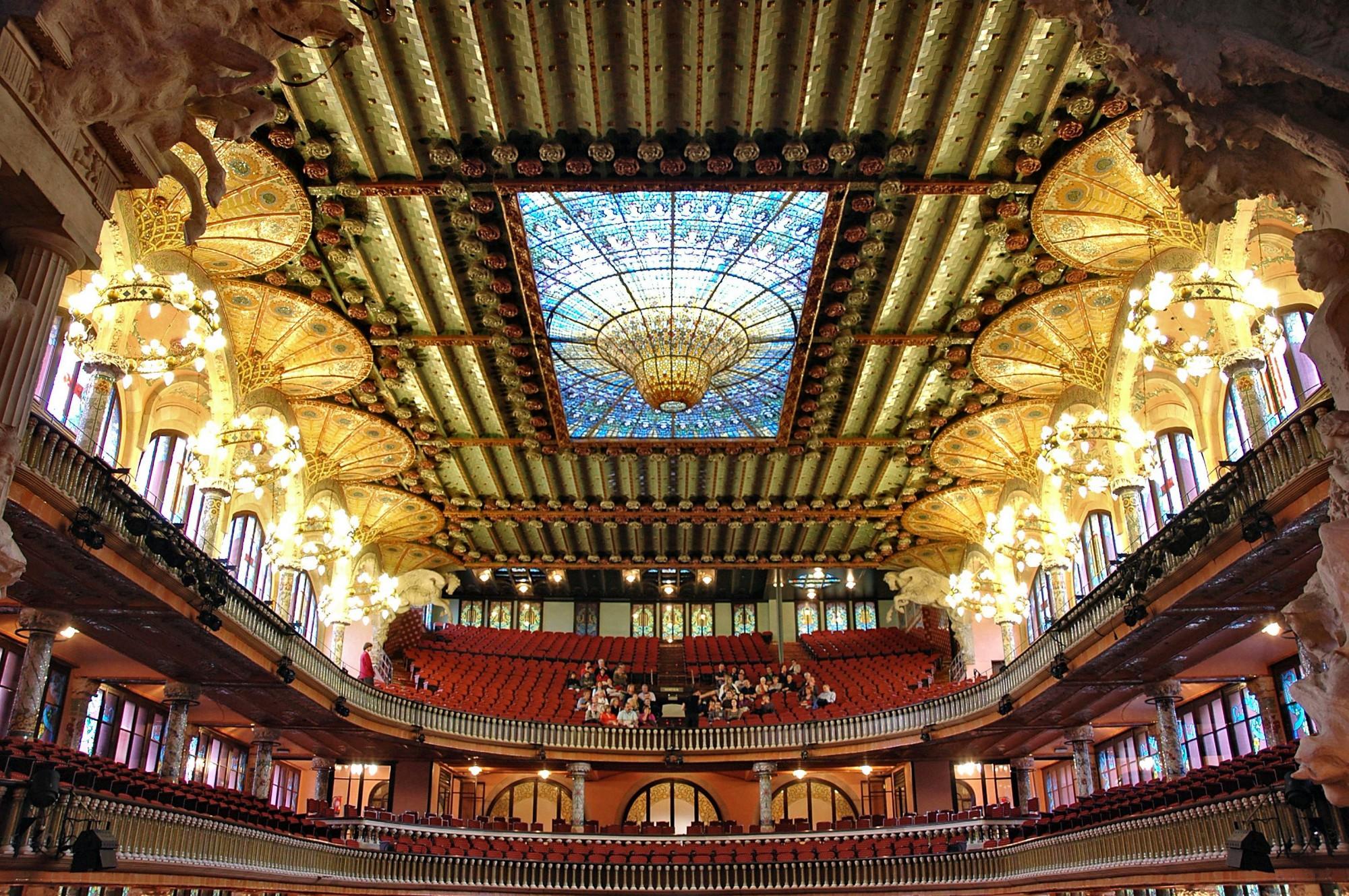 qué ver en Barcelona Palaus de la Música Catalana