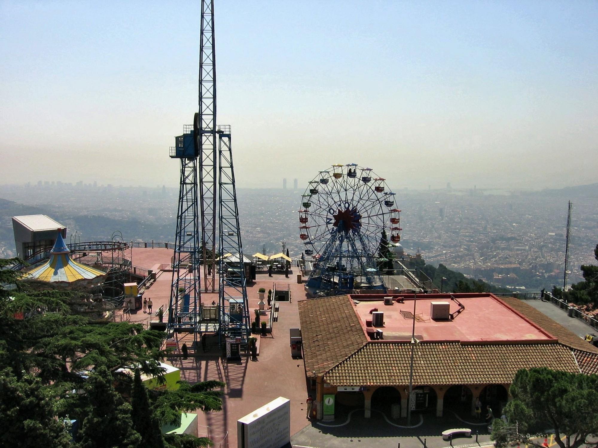 qué ver en Barcelona Parque de atracciones Tibidabo