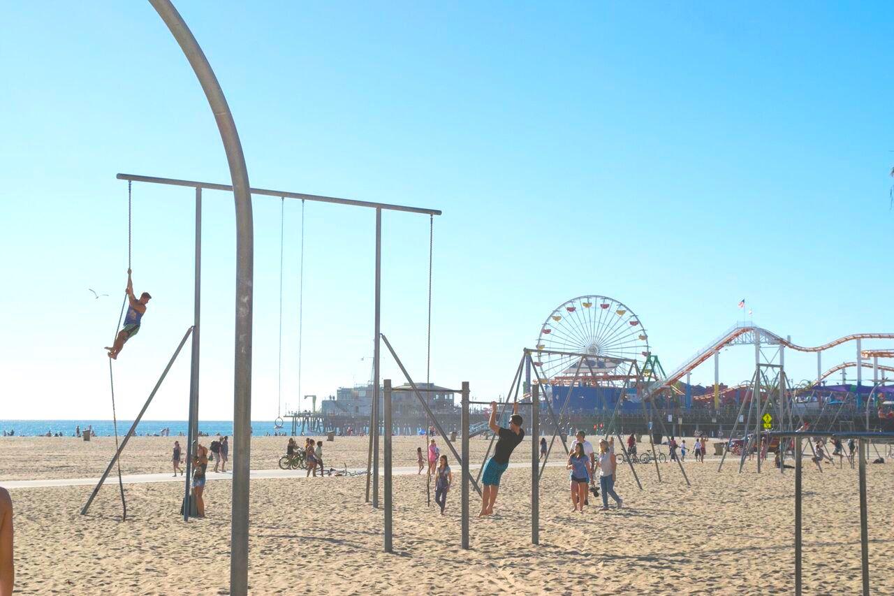 qué ver en Los Ángeles Muscle Beach
