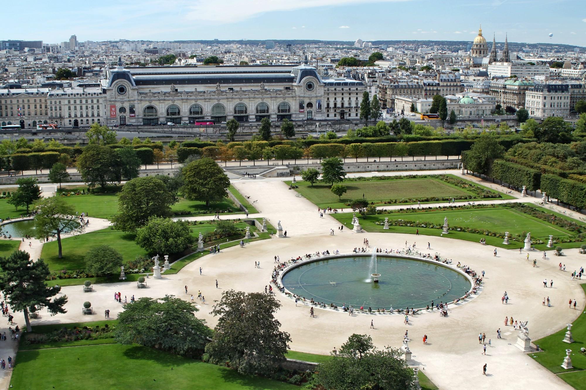 qué ver en París Jardines de las Tullerías