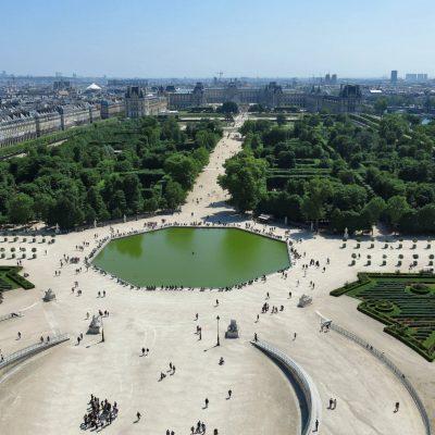 Jardines de las Tullerías, París
