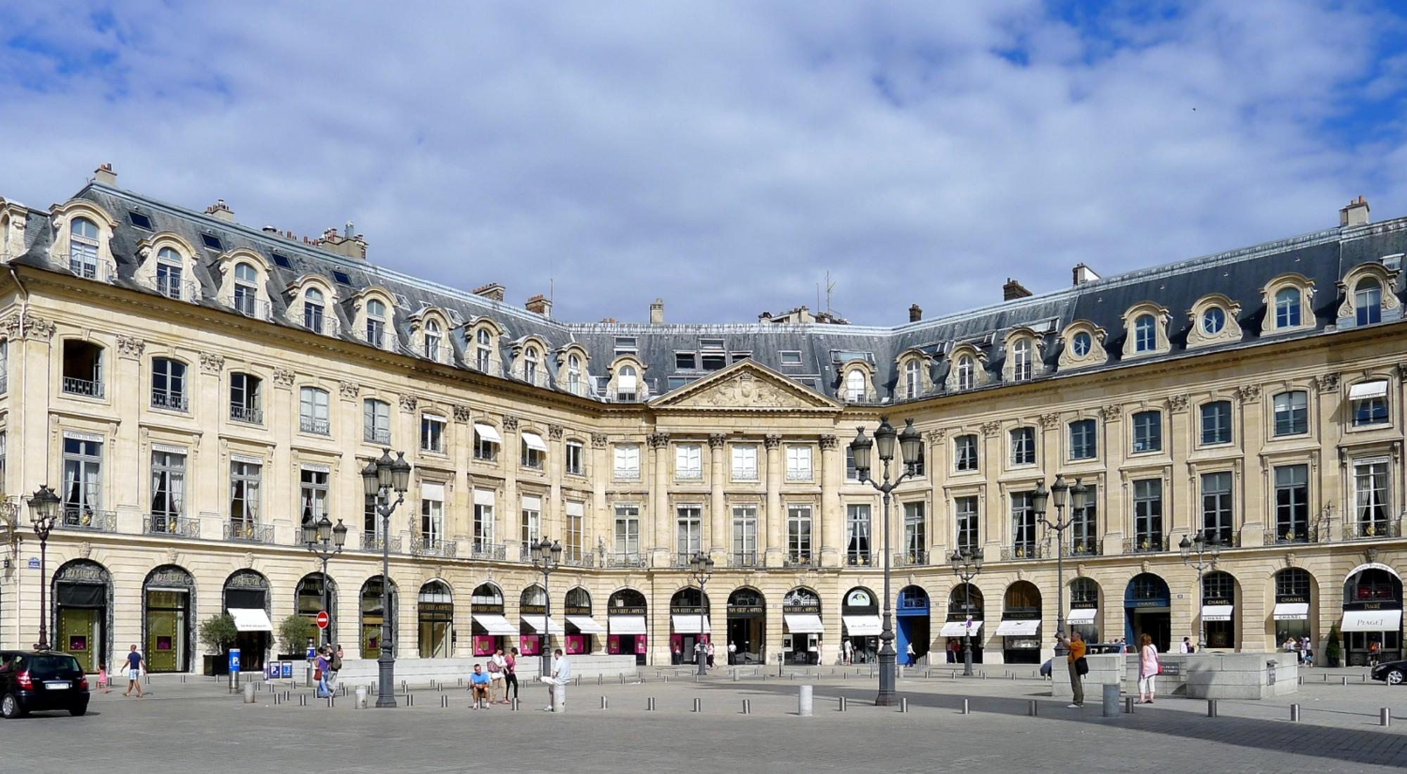 qué ver en París Plaza Vendome