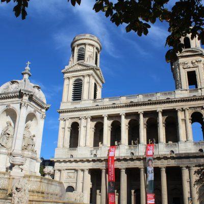 Saint Sulpice, iglesia de cine en París