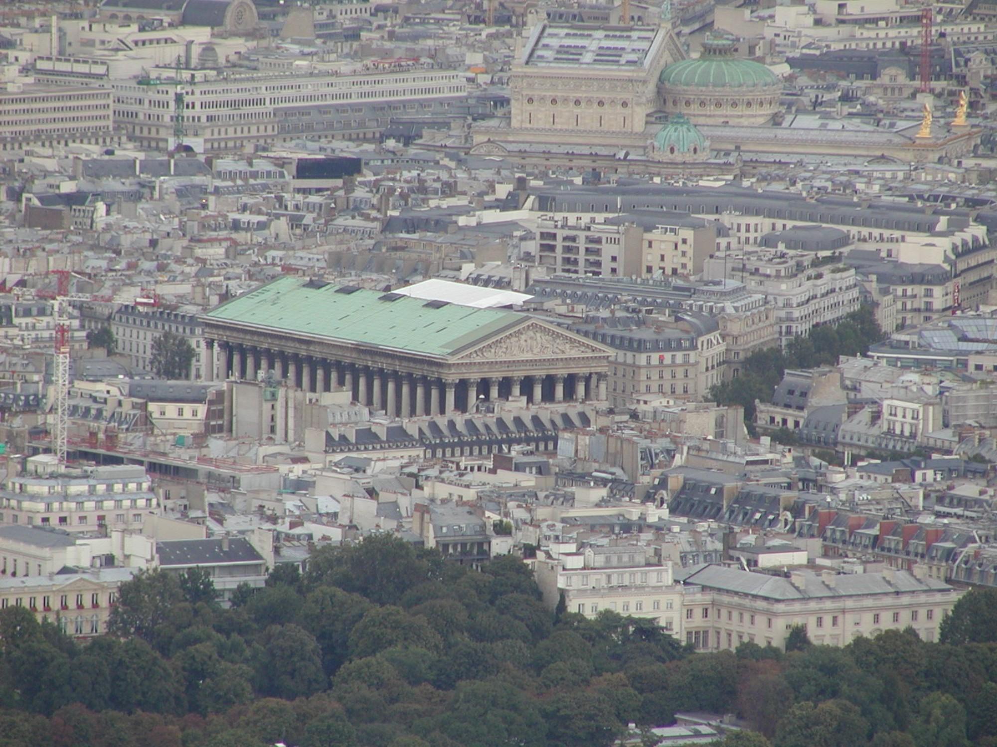 qué ver en París Iglesia de la Madeleine