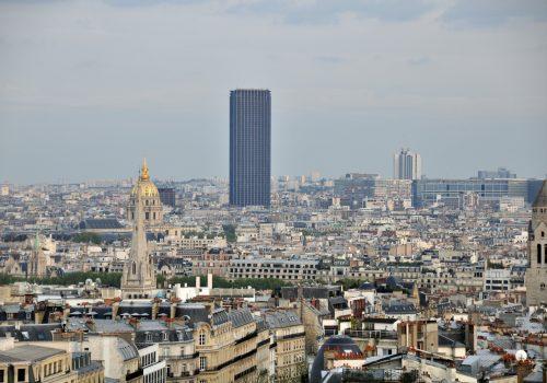 Torre Montparnasse, vista celestial