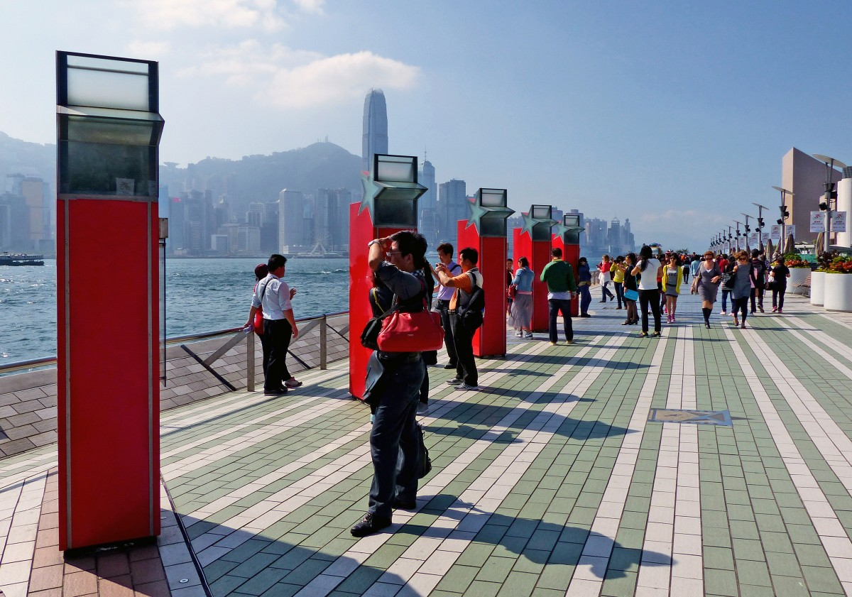 Avenida de las Estrellas en Hong Kong - Viajeros por el Mundo