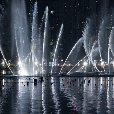 Dubái Fountains, una coreografía acuática