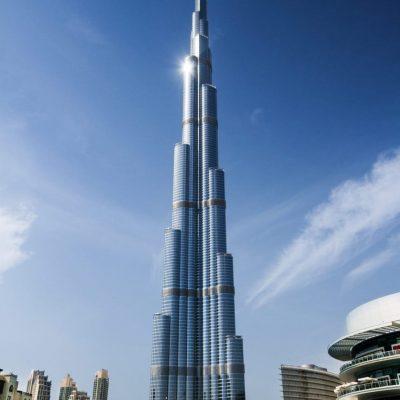 Burj Khalifa, el lujoso rascacielos más alto del mundo