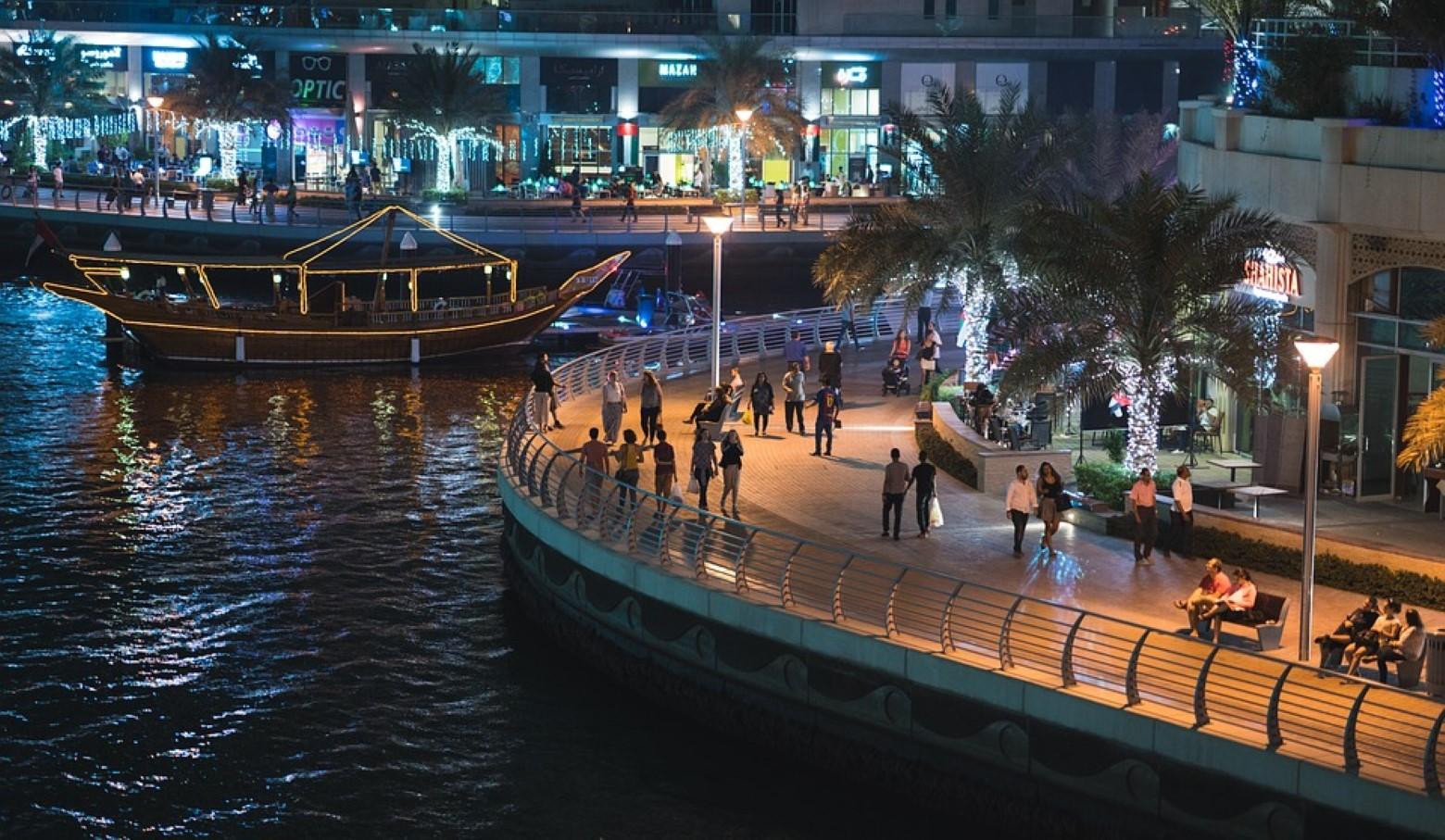 qué ver en Dubái-Dubái Marina