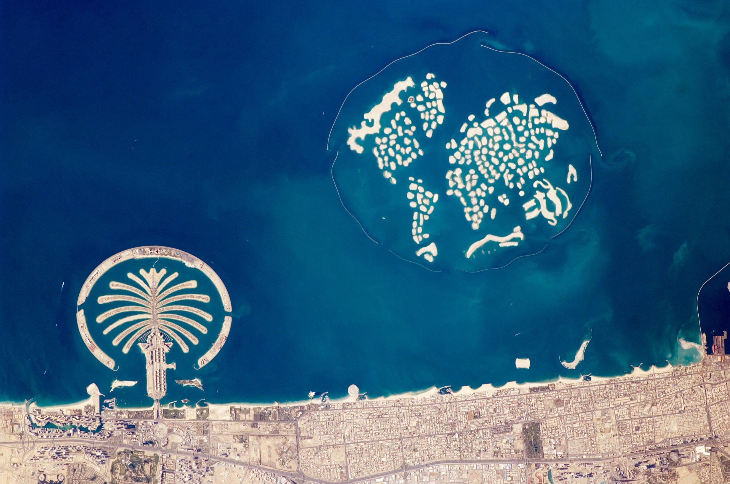 qué ver en Dubái Islas Artificiales