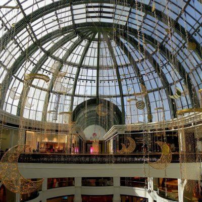 Mall of the Emirates, compras y esquí en el desierto