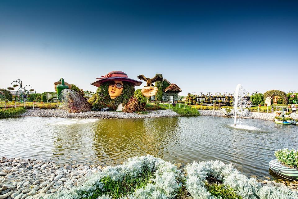 qué ver en Dubái Miracle Garden