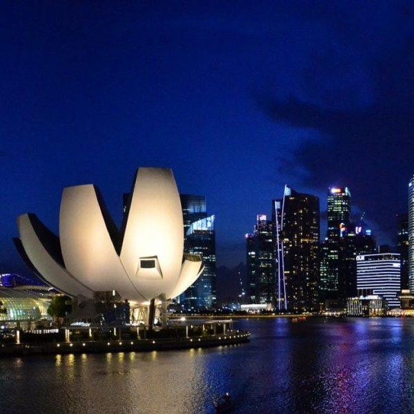 Singapur, ciudad futurista