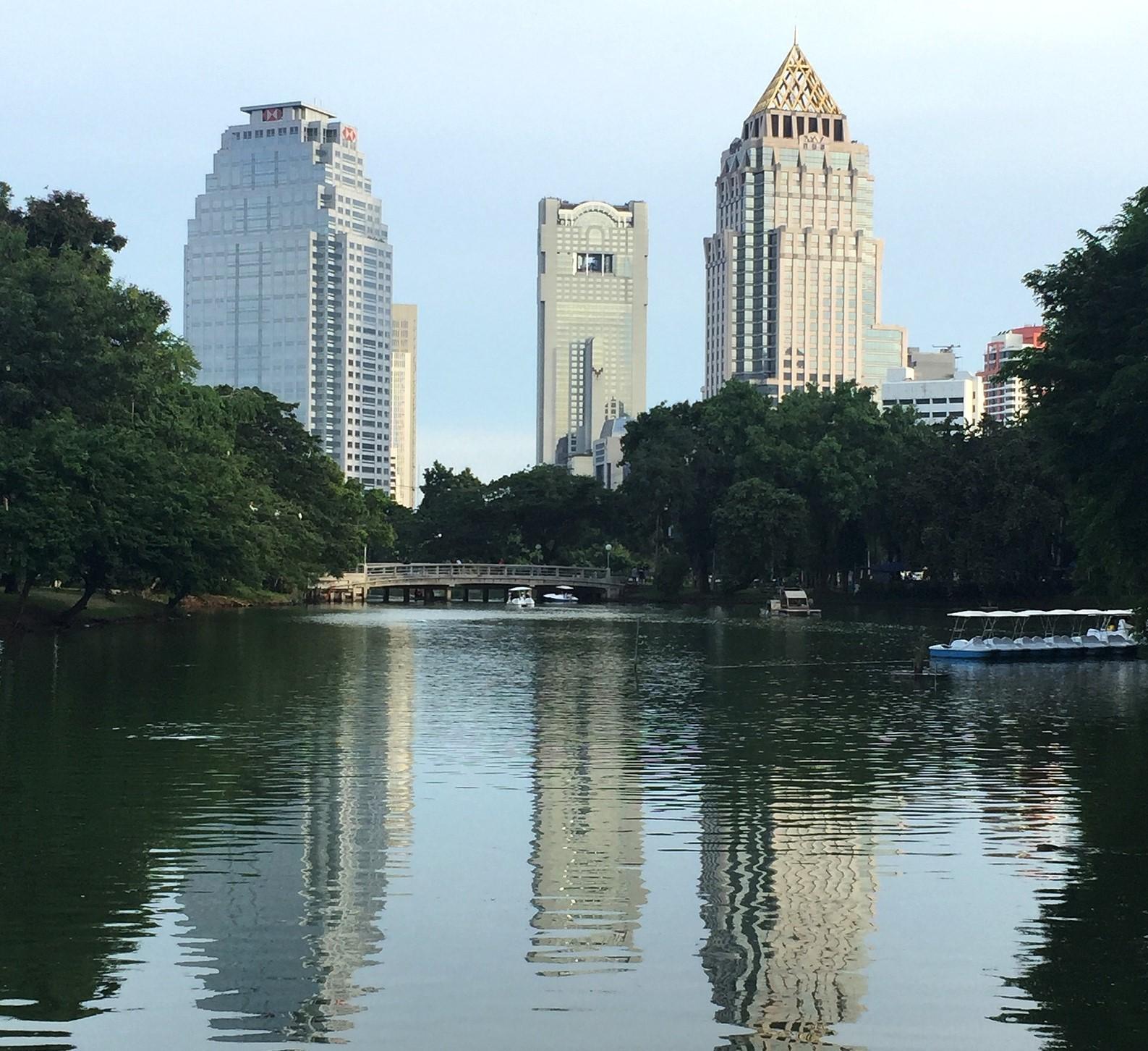qué ver en Bangkok Parque Lumpini