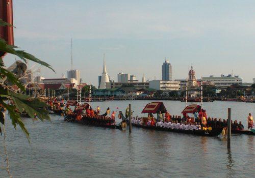 Río Chao Phraya, Bangkok
