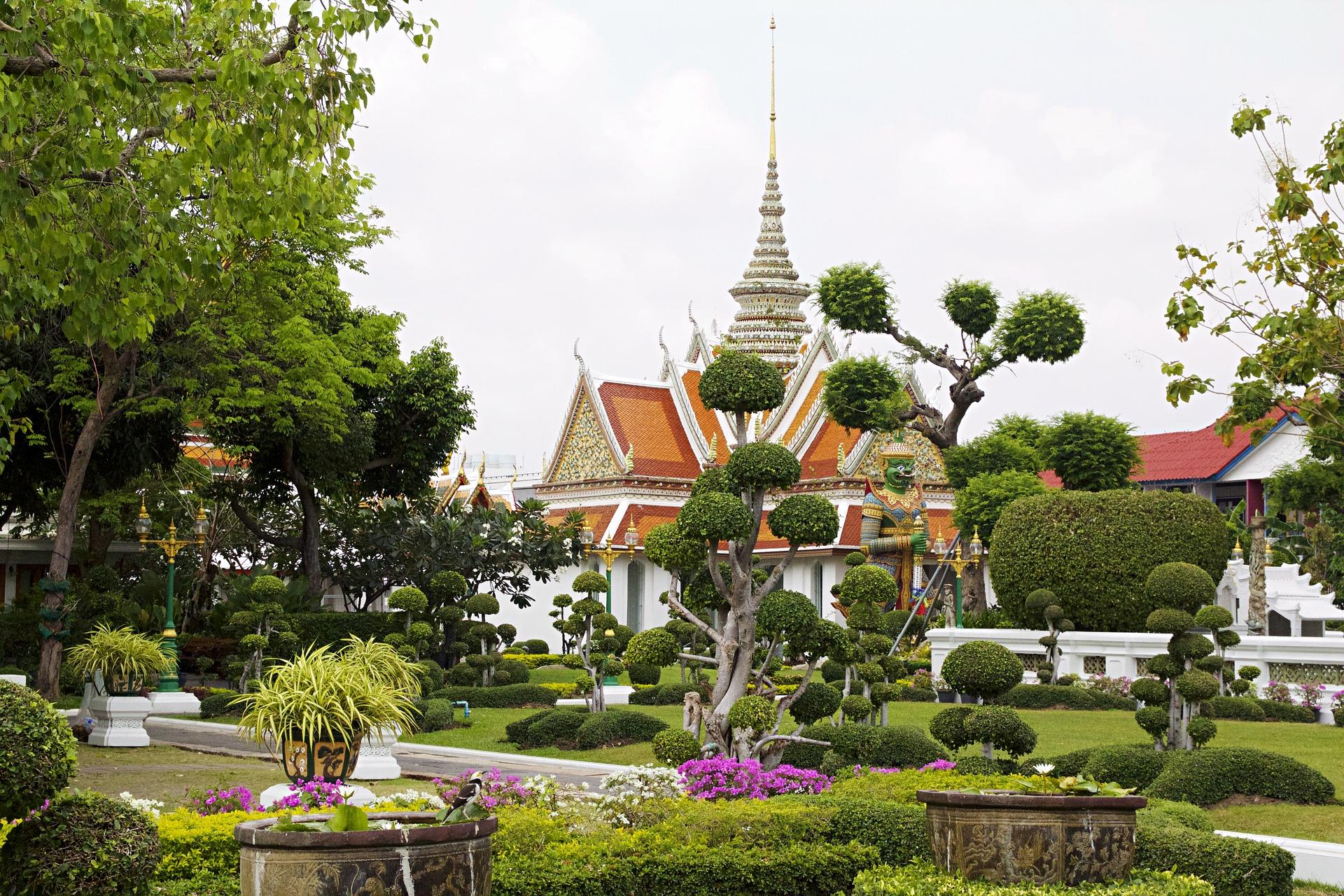 qué ver en Bangkok Templo del Amanecer