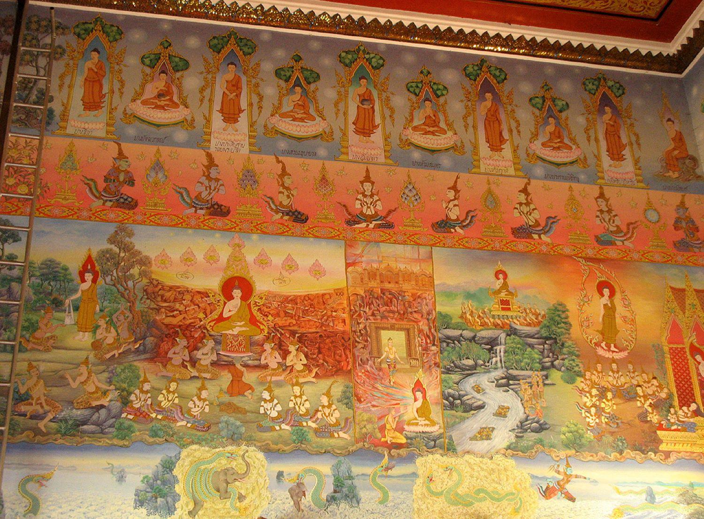 qué ver en Bangkok Templo del Buda Reclinado