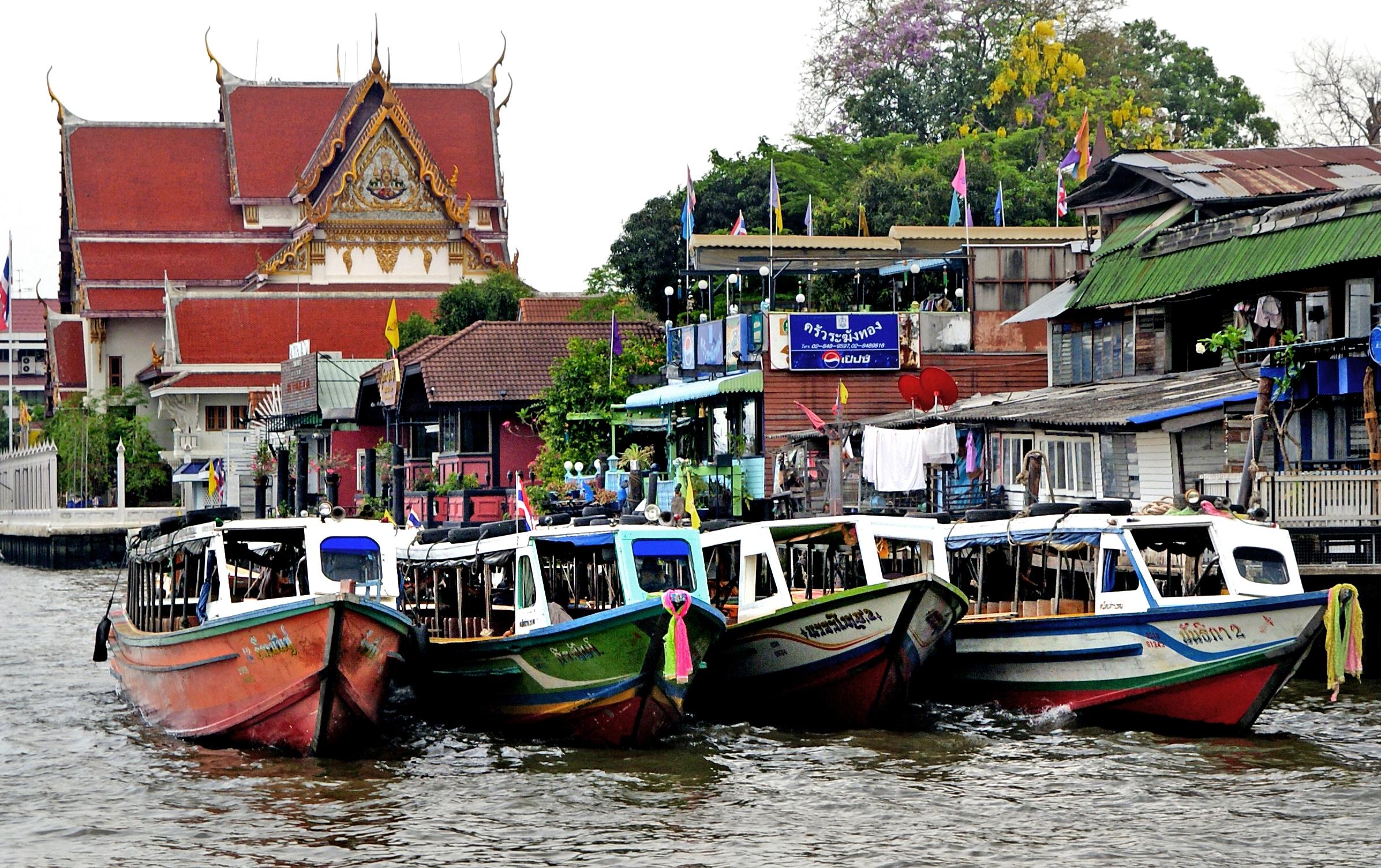 qué ver en Bangkok Río Chao Phraya