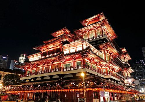 Buddha Tooth Relic Temple en Singapur