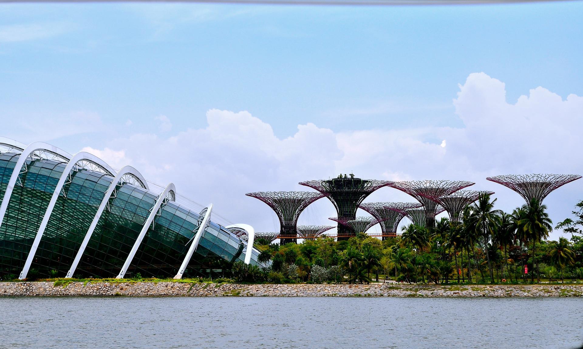 qué ver en Singapur Jardines de la Bahía