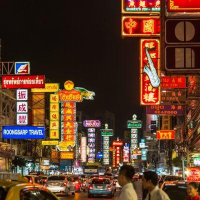 Barrios rojos, turismo en Bangkok