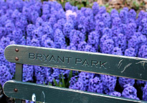 Bryant Park, oxígeno en Nueva York