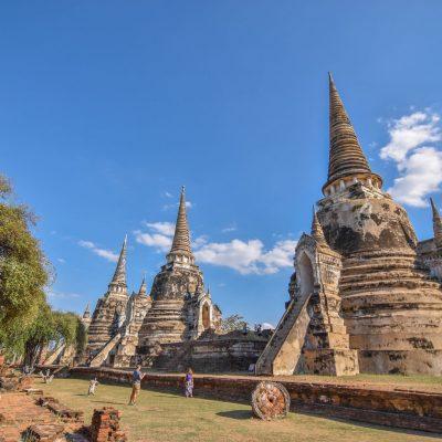 Ruinas de Ayutthaya, al norte de Bangkok