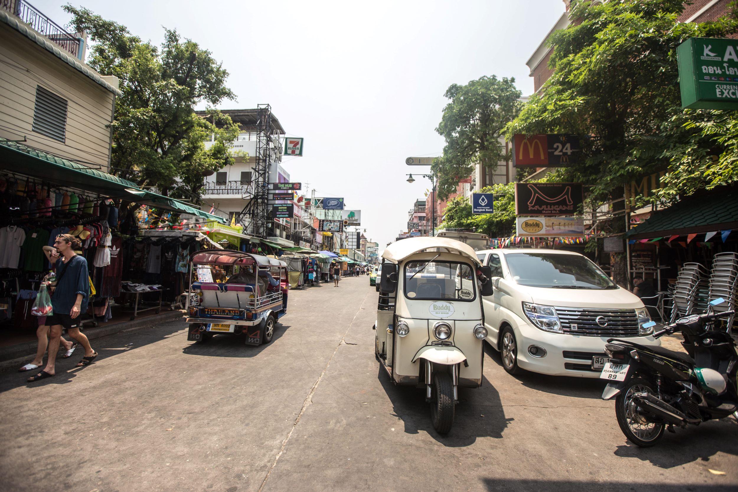 qué ver en Bangkok Khaosan Road