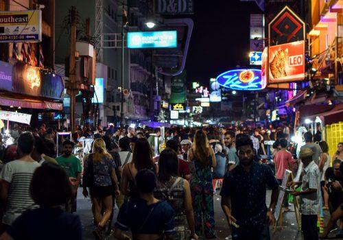 Khaosan Road, mochileros en Bangkok