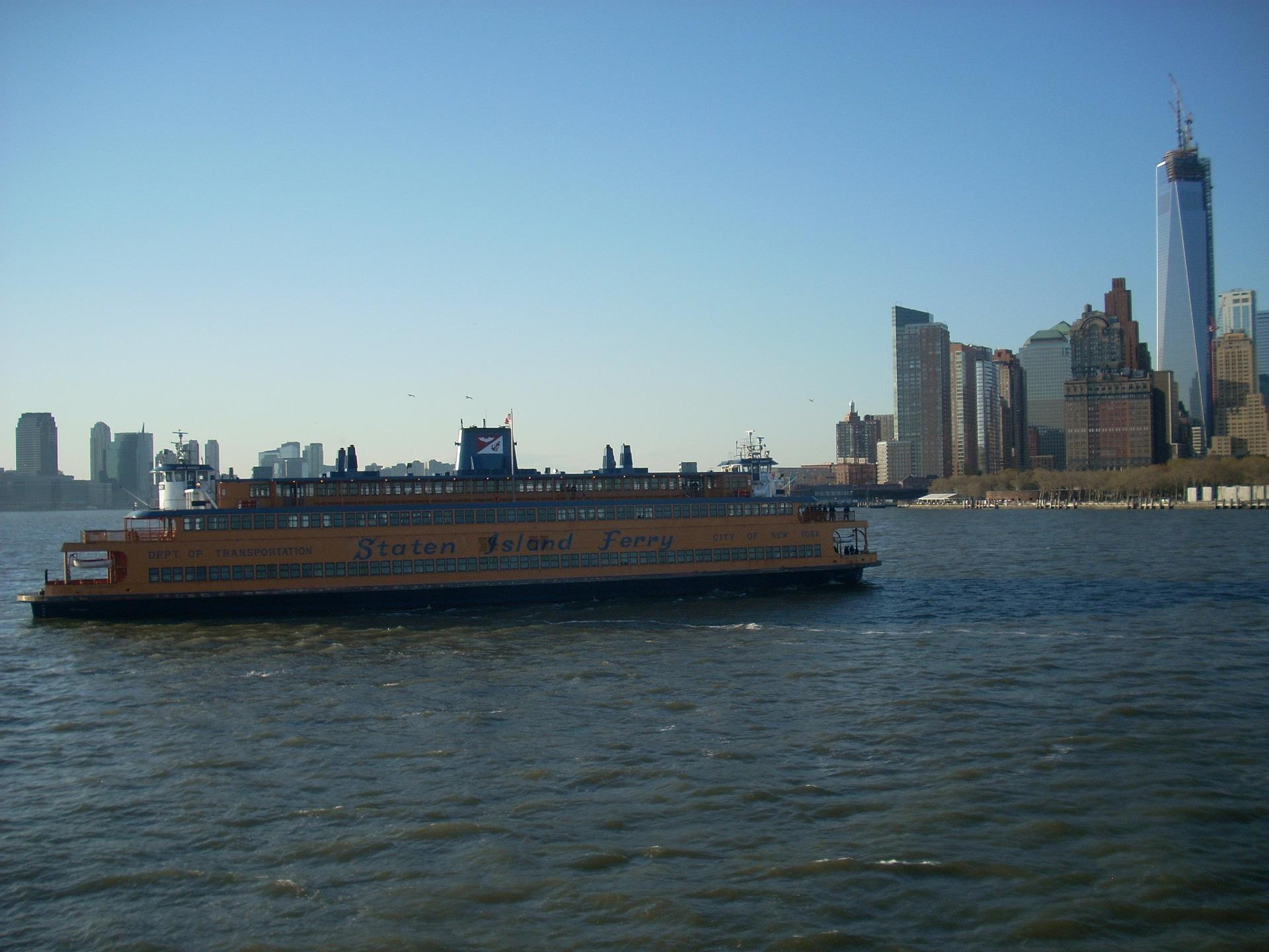qué ver en nueva York Ferry Staten Island