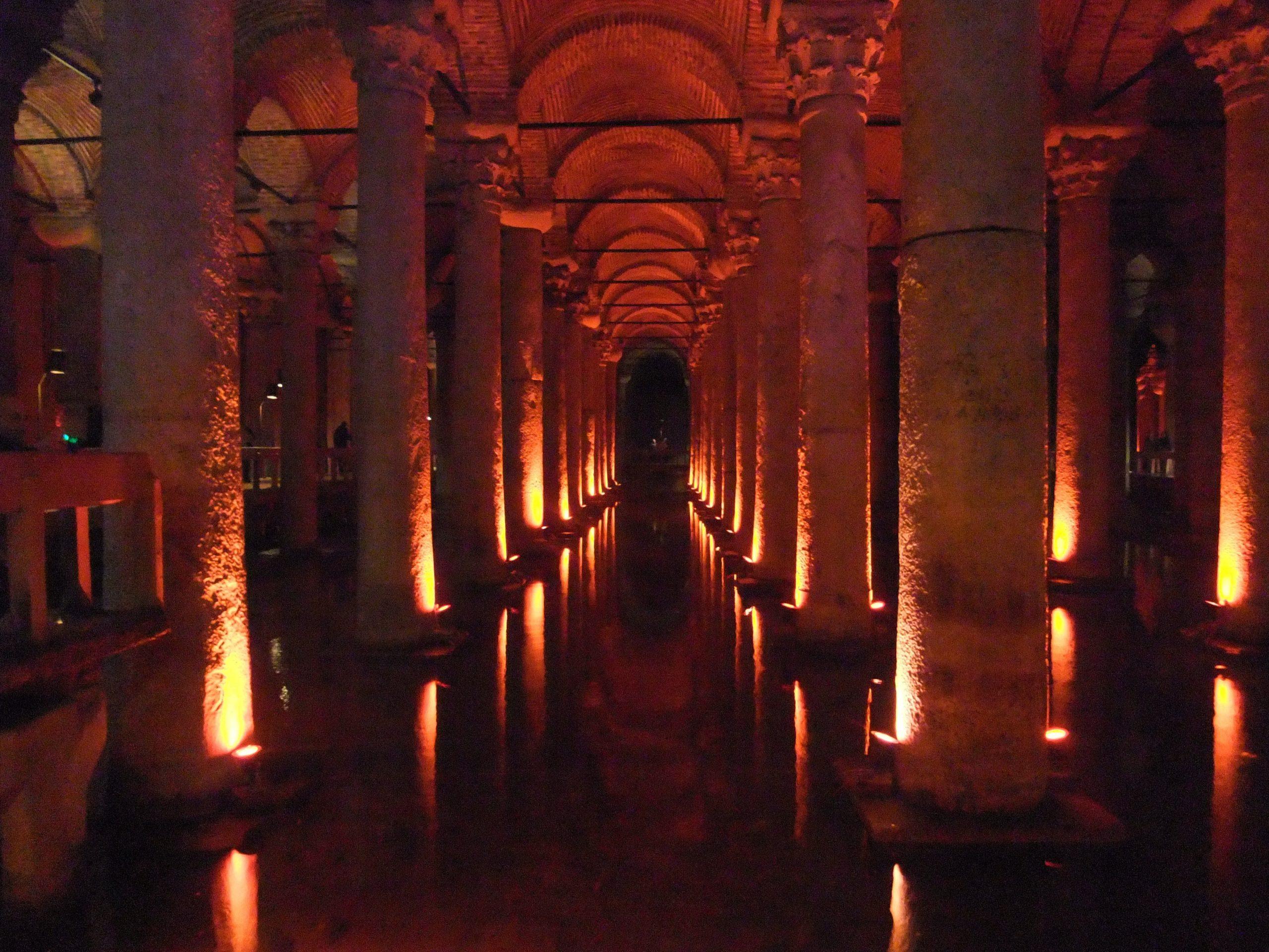 qué ver en Estambul Cisterna Basílica