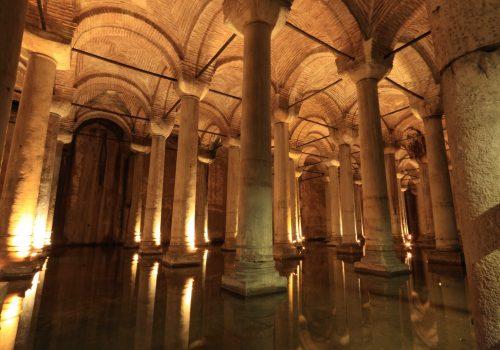 Cisterna Basílica, Estambul