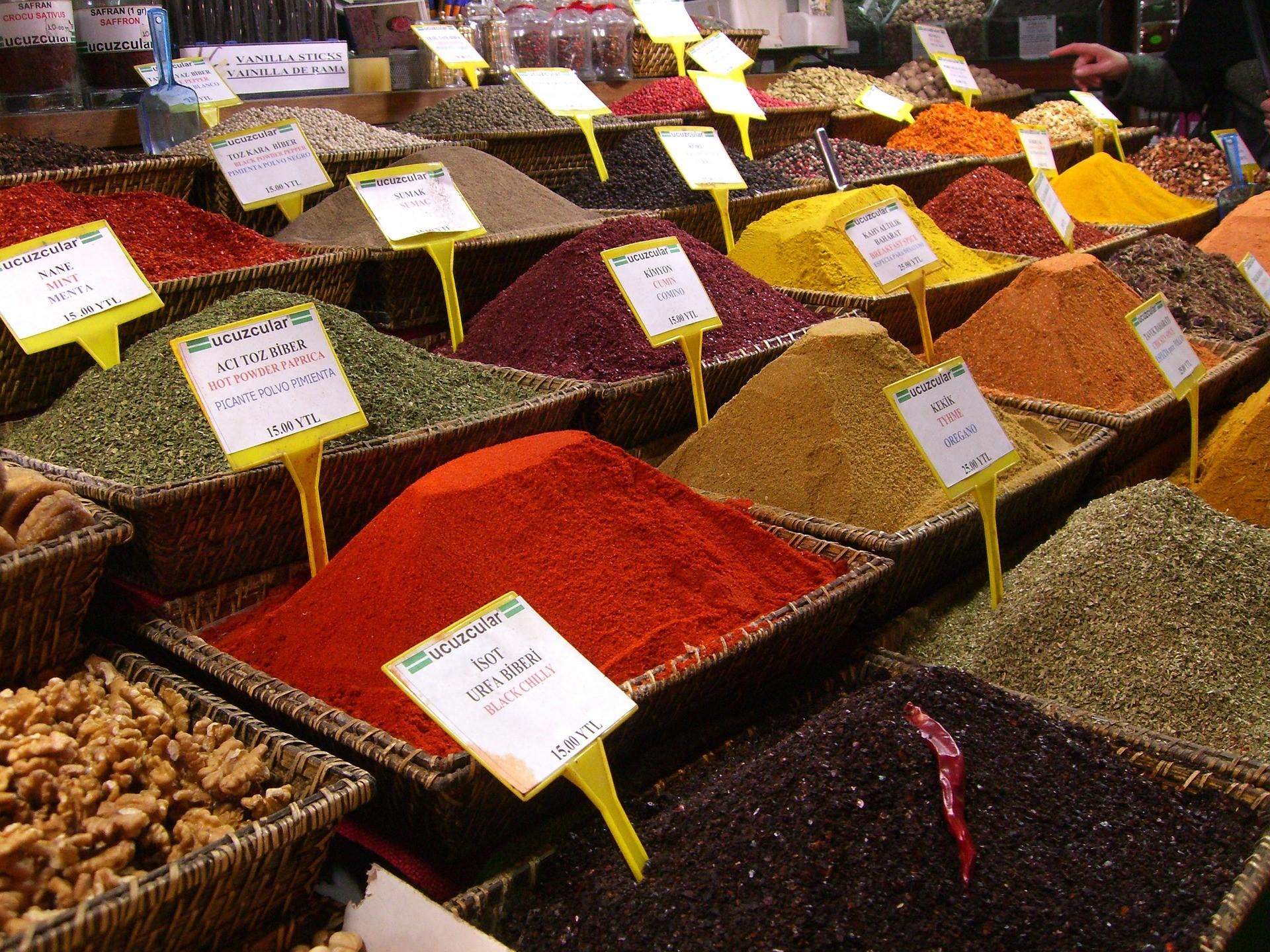 qué ver en Estambul bazar de las especias