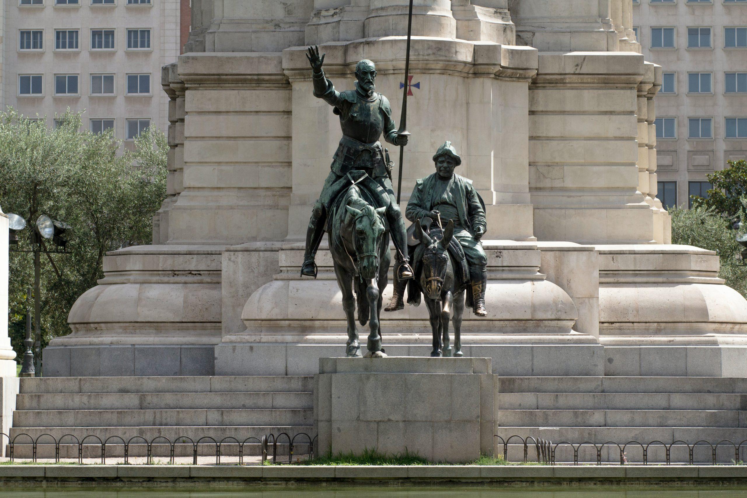 qué ver en Madrid Plaza de España