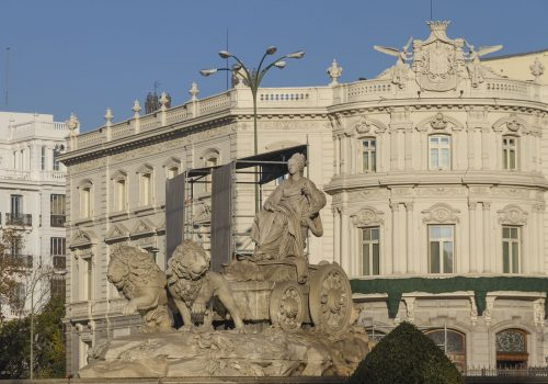 Plaza de Cibeles, una protagonista de Madrid