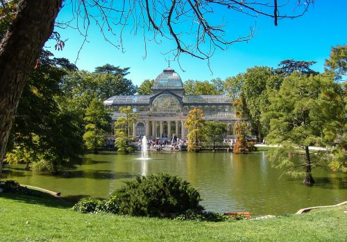 Palacio de Cristal, una foto soñada