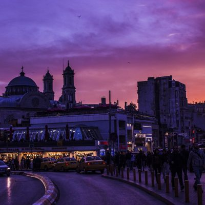 La noche en Estambul