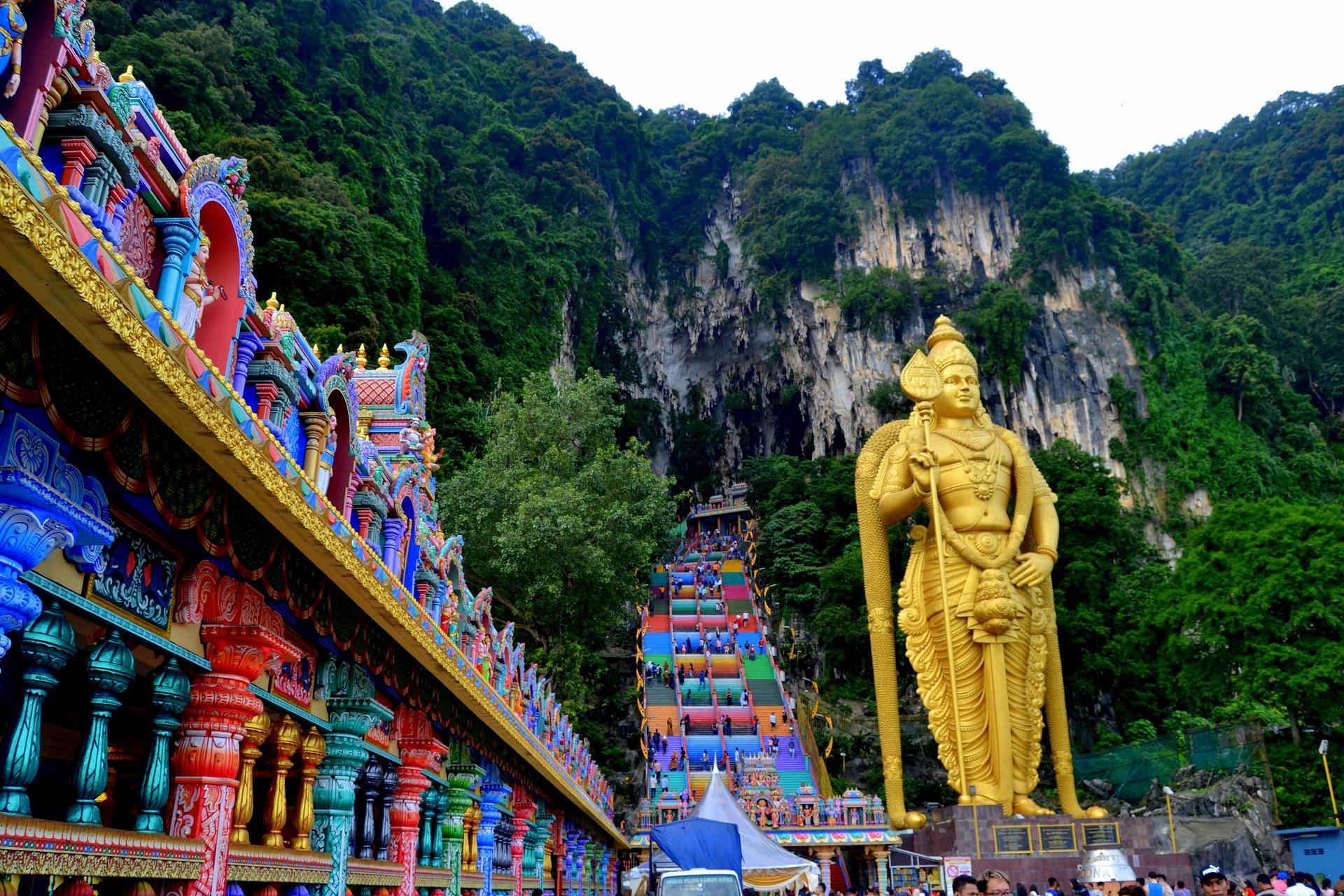 qué ver en Kuala Lumpur Cuevas de Batu