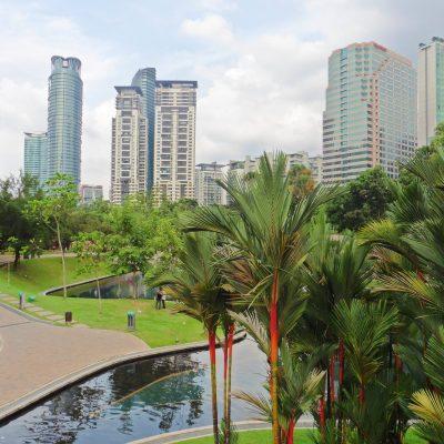 KLCC Park en Kuala Lumpur