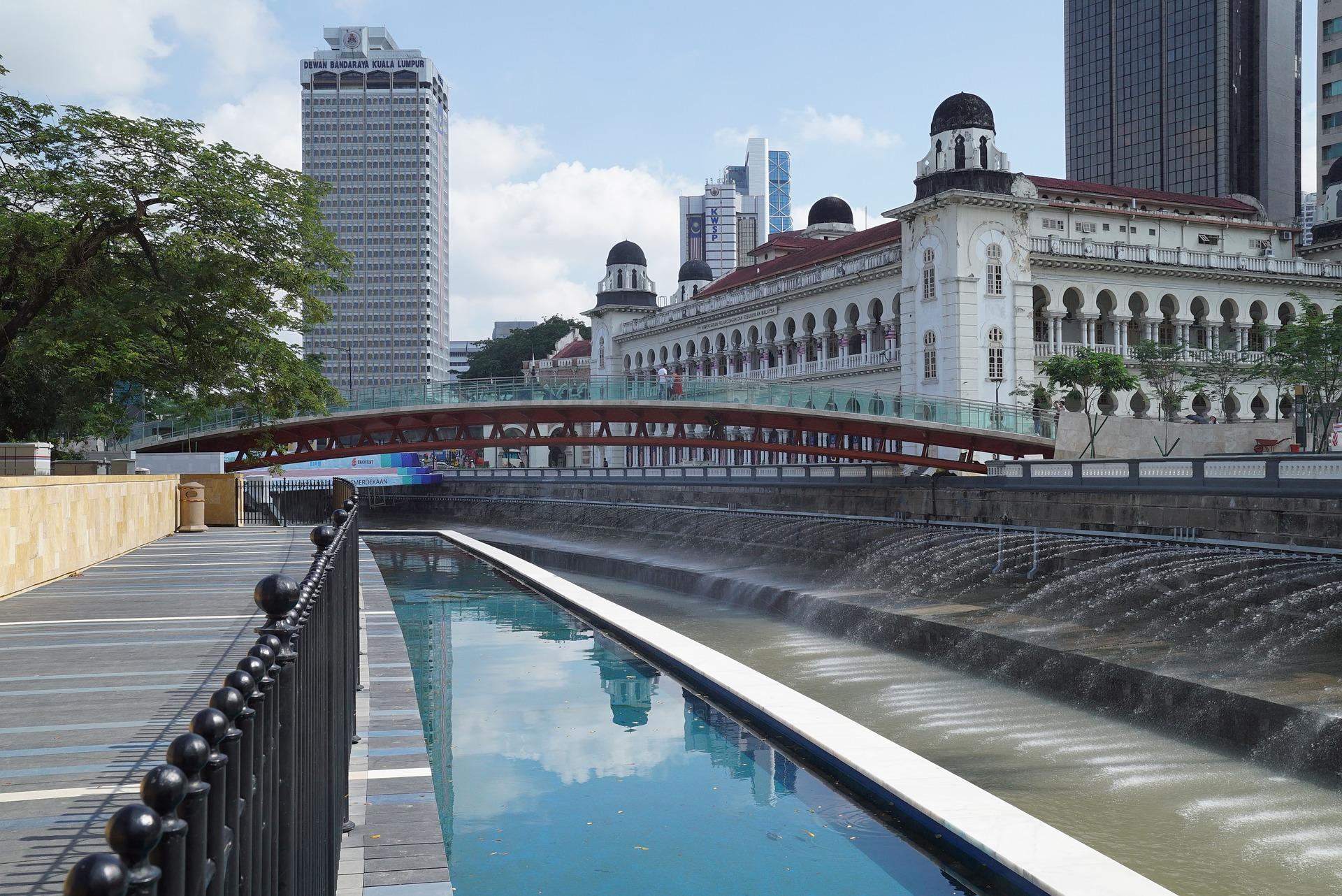 qué ver en Kuala Lumpur Masjid Jamek