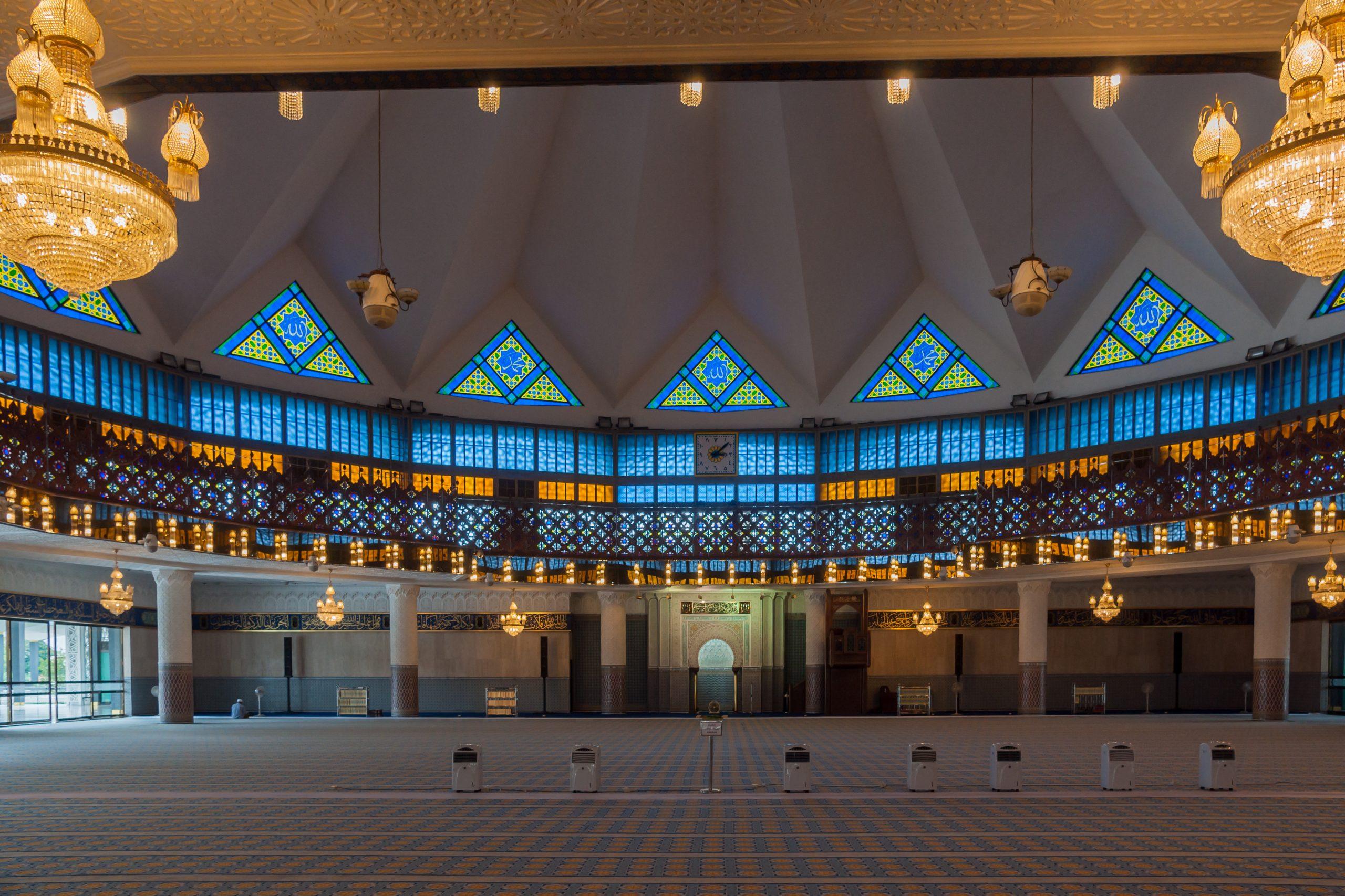 qué ver en Kuala Lumpur Masjid Negara