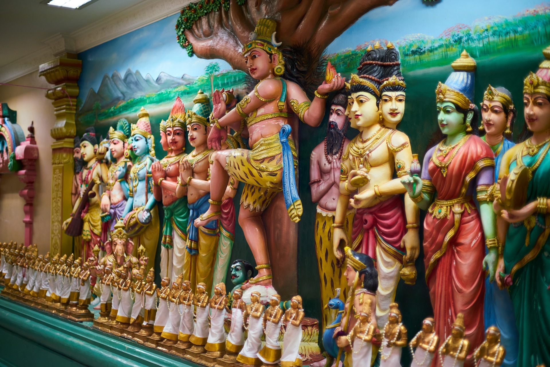 qué ver en Kuala Lumpur Sri Mahamariamman