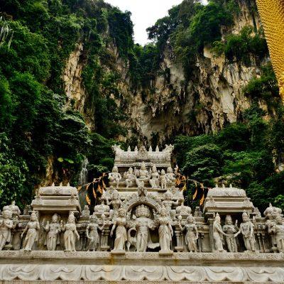Cuevas de Batu, santuario hindú en Malasia