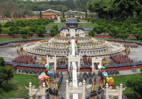 China Espléndida Pueblo Folclórico en Shenzhen